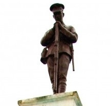 25 YEARS ON...The cenotaph at Belmore Street