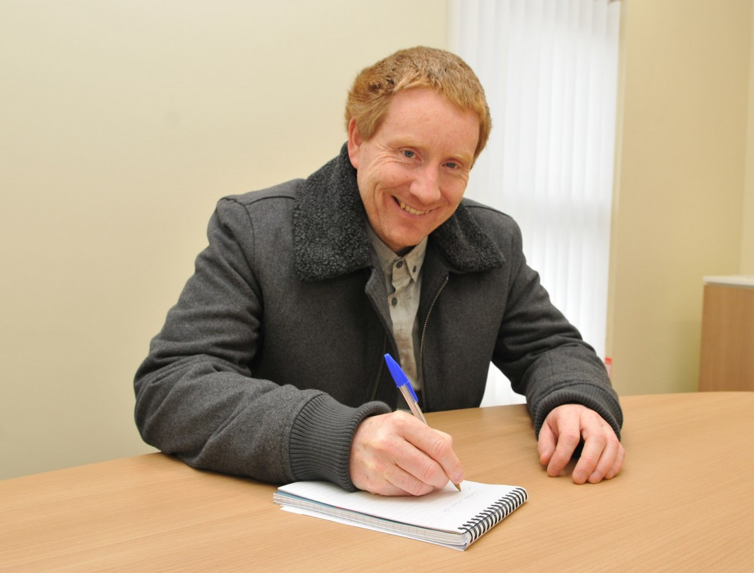 Tom McCaffrey Anti Fracking Chairman