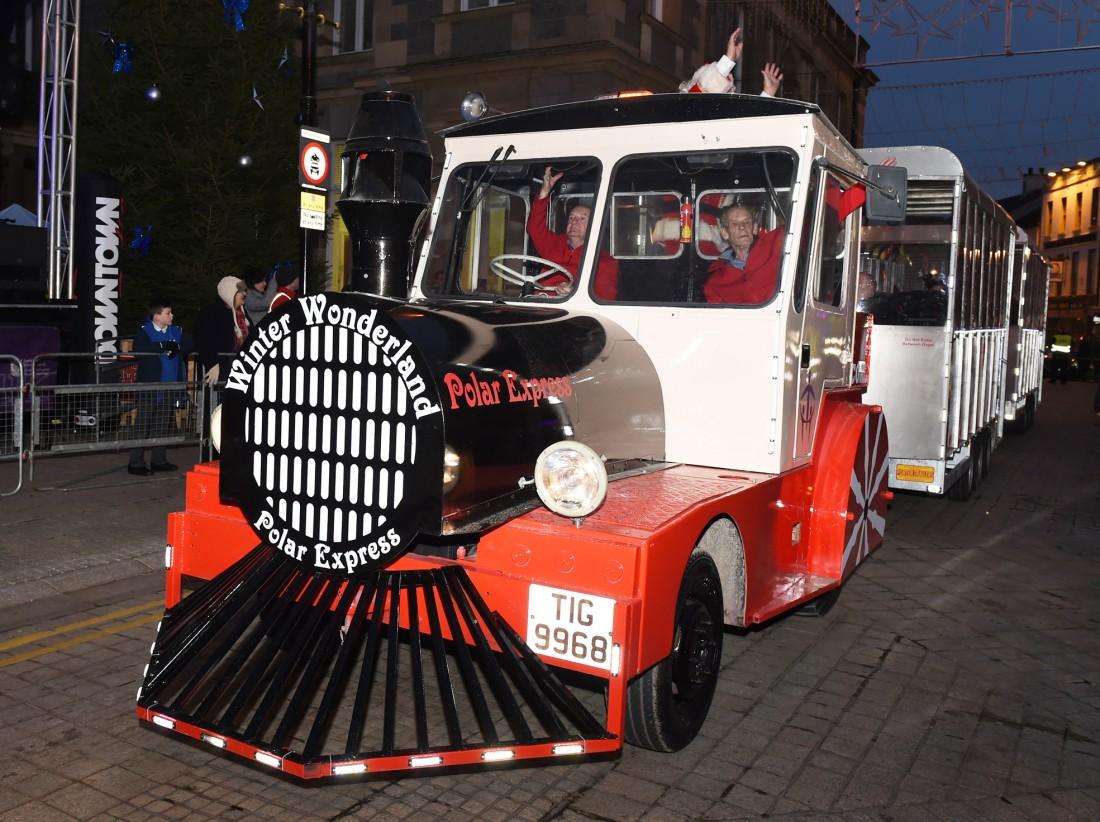 Winter Wonderland Polar Express Enniskillen